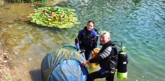 Pomáhali potápači z celého Slovenska