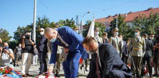 Župan Juraj Droba si uctil pamiatku obetí spolu s primátorom Matúšom Vallom a prezidentkou Zuzanou Čaputovou