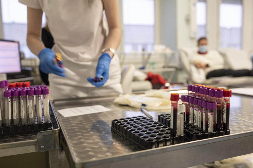 Krv putuje po odbere do karantény. Ak sa darca počas 14 dní po odbere cíti chorý, je povinný to oznámiť a krv bude zničená.