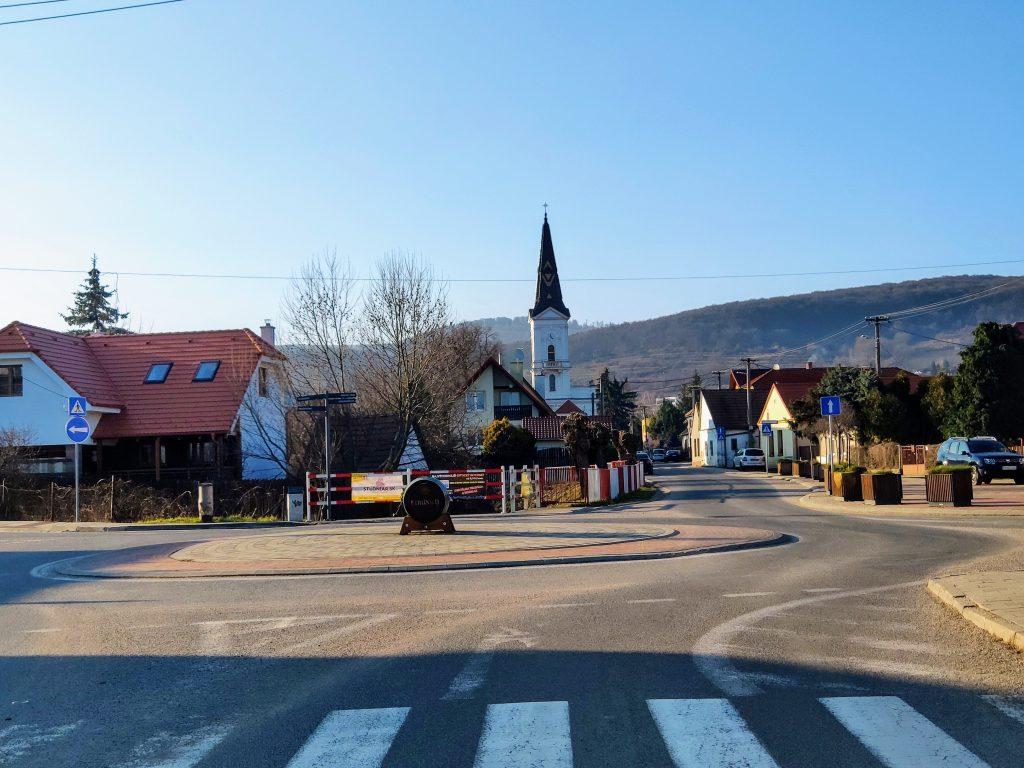 Limbach, kruhový objazd