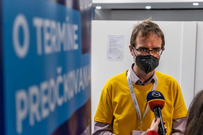 Lekár kraja a riaditeľ župného odboru zdravotníctva Tomáš Szalay