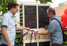 Obecnú čitáreň v Rači slávnostne otvorili minulý rok v júny starosta Michal Drotován s prednostom Petrom Semancom.