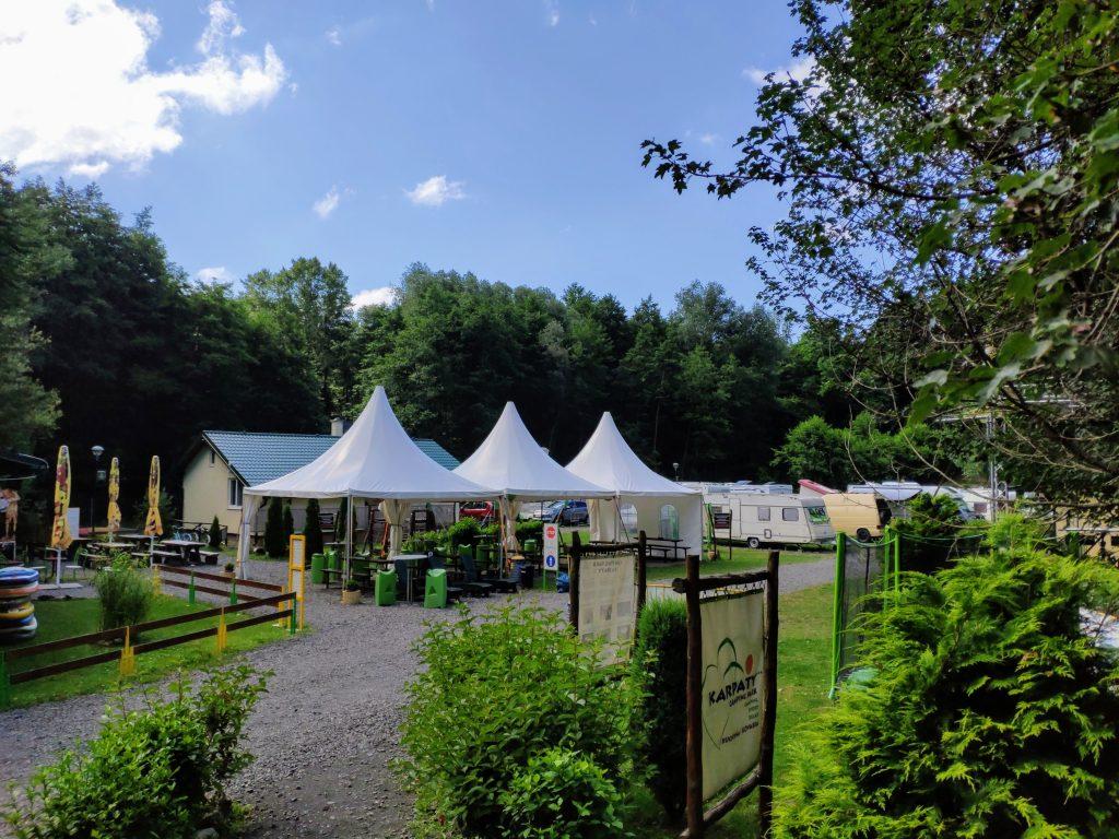 Kuchyňa, camping
