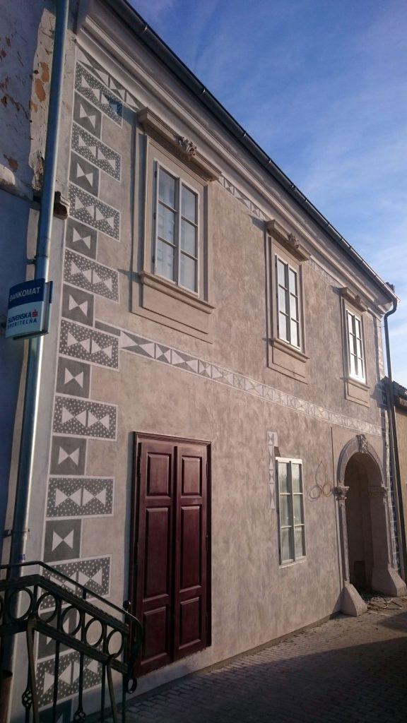 Renesančná šľachtická kúria na námestí vo Svätom Jure