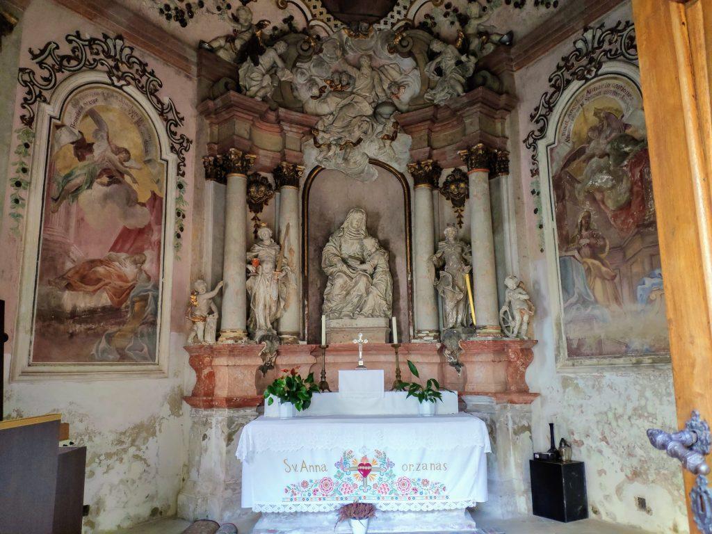 Marianka, kaplnka sv. Anny