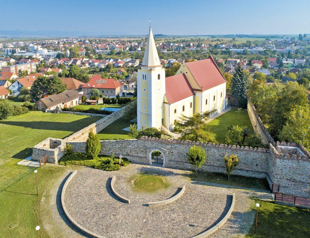 Šenkvice, Kostol sv. Anny
