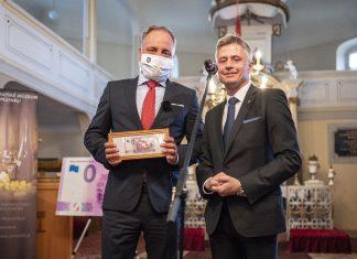 Župan Juraj Droba a riaditeľ múzea Martin Hrubala
